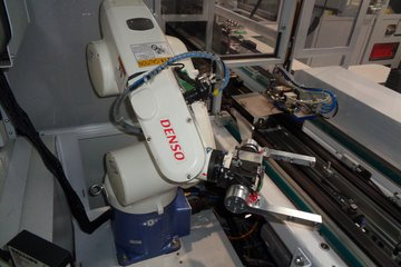 DENSO robot in Erwin Quarder Application